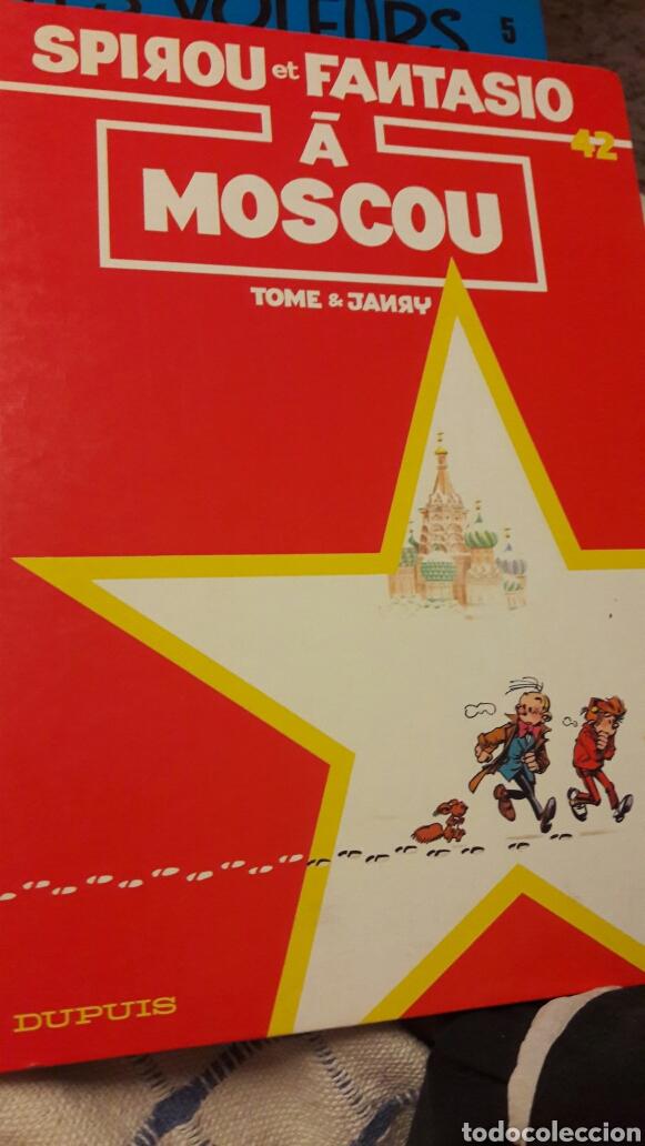 SPIROU ET FANTASIO A MOSCOU.1990. DUPUIS. EN FRANCÉS. (Tebeos y Comics - Comics Lengua Extranjera - Comics Europeos)