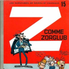 Cómics: FRANQUIN - SPIROU ET FANTASIO Nº 15 - Z COMME ZORGLUB - DUPUIS 1980 - EN FRANCES - TAPA DURA - BIEN. Lote 97464907