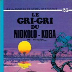 Cómics: SPIROU ET FANTASIO Nº 25 - LE GRI-GRI DE NIOKOLO-KOBA - DUPUIS 1987 - EN FRANCES - TAPA DURA - BIEN. Lote 97465011
