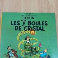 Cómics: LES AVENTURES DE TINTIN. LES 7 BOULES DE CRISTAL. CASTERMAN. 1983. VER FOTOS. Lote 97933655