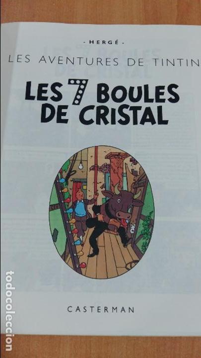 Cómics: LES AVENTURES DE TINTIN. LES 7 BOULES DE CRISTAL. CASTERMAN. 1983. VER FOTOS - Foto 2 - 97933655