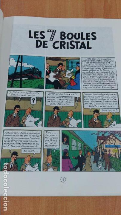 Cómics: LES AVENTURES DE TINTIN. LES 7 BOULES DE CRISTAL. CASTERMAN. 1983. VER FOTOS - Foto 3 - 97933655