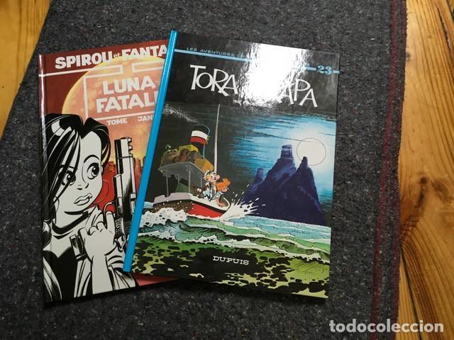 LOTE DE 2 SPIROU EN FRANCÉS NºS 23 Y 45 - TORA TORAPA & LUNA FATALE - D8 (Tebeos y Comics - Comics Lengua Extranjera - Comics Europeos)