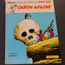 Cómics: LUCKY LUKE - CAÑON APACHE - PILOTE - PRIMERA EDICION . - EN ESPAÑOL. Lote 98043699