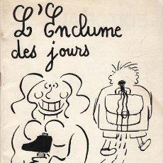 Cómics: MARC. L'ENCLUME DES JOURS. FANZINE. FRANCIA 1984. Lote 53505724