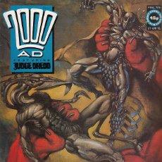 Comics - 2000 AD # 728 (FLEETWAY,1991) - JUDGE DREDD - GARTH ENNIS - NEMESIS - ROBO HUNTER - 98423287