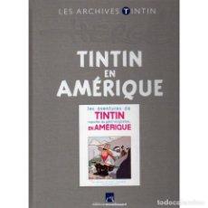 Cómics: LES ARCHIVES ATLAS TINTIN. TINTIN EN AMÉRIQUE B/N (FRANCÉS) HERGÉ. Lote 99220827