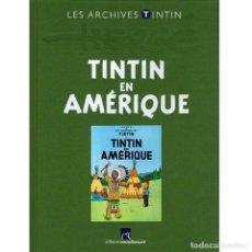 Cómics: LES ARCHIVES ATLAS TINTIN. TINTIN EN AMÉRIQUE (FRANCÉS) HERGÉ. Lote 99220859