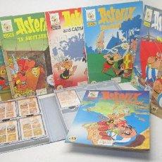Cómics: ASTERIX 8 COMICS + 7 CINTAS DE CASETE EN INGLÉS-CURSO INGLÉS STUDY COMICS-EDICIONES DEL PRADO-1988. Lote 52988658