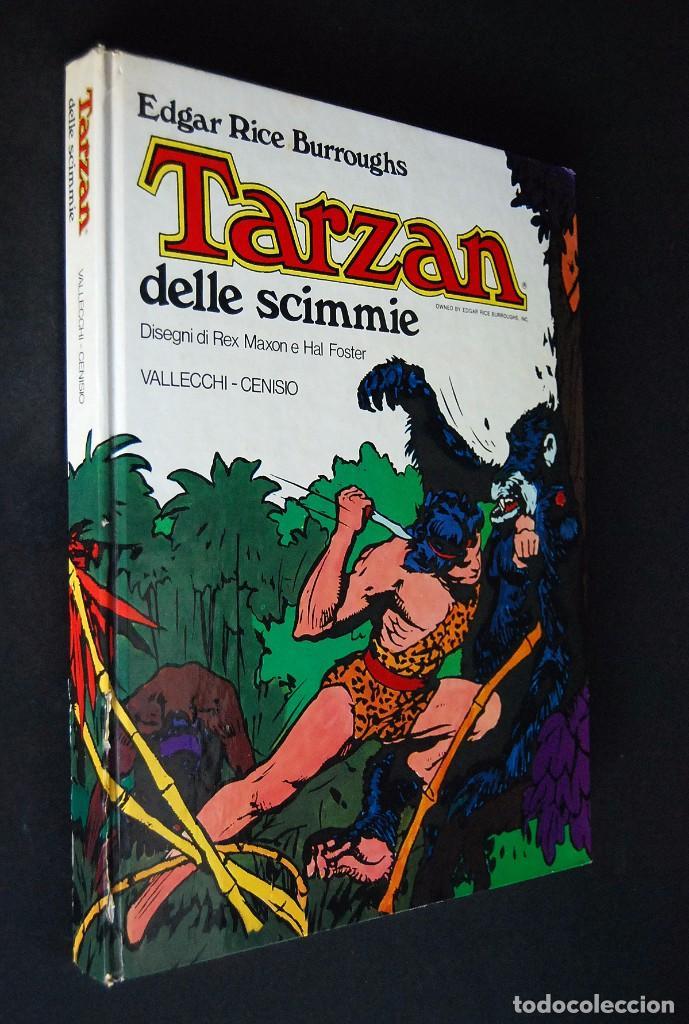 TARZAN DELLE SCIMMIE. EDGAR RICE BURROUGHS. 1977. VALLECCHI - CENISIO (Tebeos y Comics - Comics Lengua Extranjera - Comics Europeos)