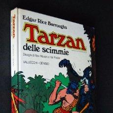 Cómics: TARZAN DELLE SCIMMIE. EDGAR RICE BURROUGHS. 1977. VALLECCHI - CENISIO. Lote 99352819