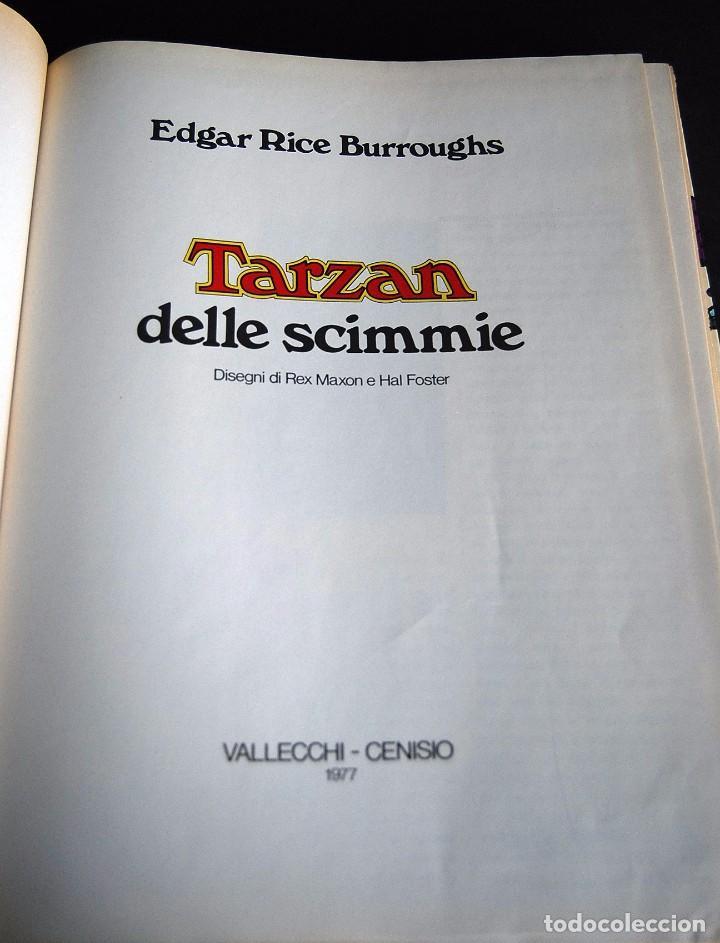 Cómics: TARZAN DELLE SCIMMIE. EDGAR RICE BURROUGHS. 1977. VALLECCHI - CENISIO - Foto 2 - 99352819