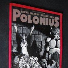 Cómics: POLONIUS. PICARET Y TARDI. LES HUMANOIDES ASSOCIES 1977. Lote 99354971