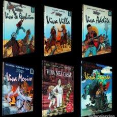 Cómics: VÍCTOR DE LA FUENTE Y JEAN - MICHEL CHARLIER. LES GRINGOS. LOS 6 TOMOS ORIGINALES.. Lote 99381479
