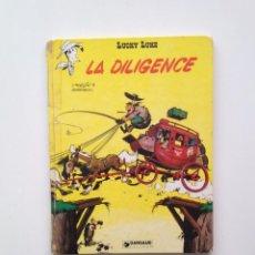 Cómics: LUCKY LUKE - MORRIS -LA DILIGENCE - DUPUIS -1968 - FRANCES. Lote 99457707
