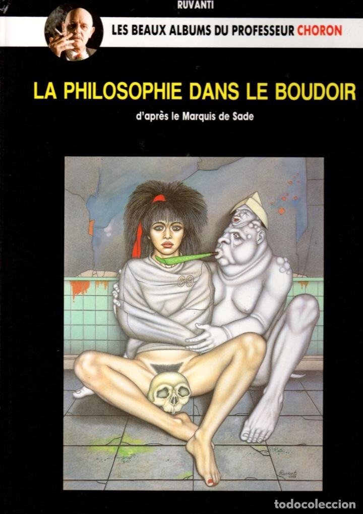 Cómics: LA PHILOSOPHIE DANS LE BOUDOIR. LES BEAUX ALBUMS DU PROFESSEUR CHORON. Nº 10. MAGIC STRIP. AÑO 1990 - Foto 1 - 99521551