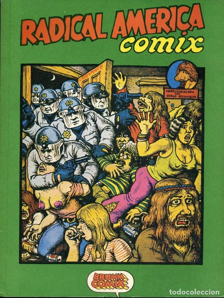 RADICAL AMERICA COMIX. EDITA BRUMM COMIX, GERMANY 1973 (Tebeos y Comics - Comics Lengua Extranjera - Comics Europeos)