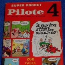 Cómics: SUPER POCKET - PILOTE Nº 4 - COLLECTIF (1969). Lote 205470383