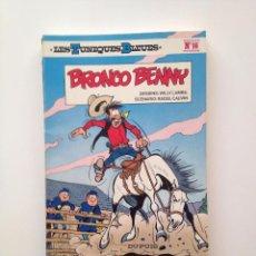 Cómics: LES TUNIQUES BLEUES Nº 16. BRONCO BENNY. LOUIS SALVÉRIUS / RAOUL CAUVIN. Lote 100063815