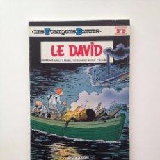 Cómics: LES TUNIQUES BLEUES Nº 19. LE DAVID. LOUIS SALVÉRIUS / RAOUL CAUVIN. Lote 100064687
