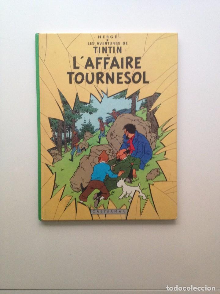 LES AVENTURES DE TINTIN : L'AFFAIRE TOURNESOL /CASTERMAN- (FRANCES) 1966 (Tebeos y Comics - Comics Lengua Extranjera - Comics Europeos)