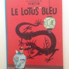 Cómics: LES AVENTURES DE TINTIN :LE LOTUS BLEU /CASTERMAN- (FRANCES) 1966. Lote 100205675
