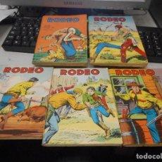 Cómics: LOTE COMIC EN FRANCES RODEO AÑOS 60 NUMEROS159 160 168 182 184. Lote 100418443
