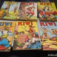 Cómics: LOTE COMIC EN FRANCES KIWI AÑOS 60 NUMEROS 110 111 123 135 137 140. Lote 100419459