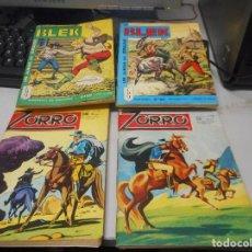 Cómics: LOTE COMIC EN FRANCES AÑOS 60 BLEK 22 89 ZORRO 112 137. Lote 100422631