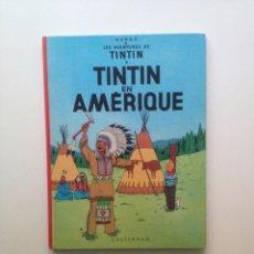 Cómics: LES AVENTURES DE TINTIN :TINTIN EN AMERIQUE/CASTERMAN- (FRANCES) 1977. Lote 100535027