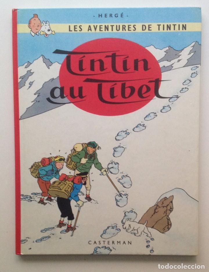 LES AVENTURES DE TINTIN :TINTIN AU TIBET/CASTERMAN- (FRANCES) 1976 (Tebeos y Comics - Comics Lengua Extranjera - Comics Europeos)