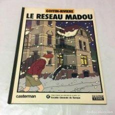 Cómics: LE RESEAU MADOU GOFFIN RIVIERE CASTERMAN 1982 SOCIETE GENERALE DE BANQUE COMIC FRANCO BELGA. Lote 100750283