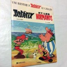 Cómics: ASTERIX ET LES NORMANDS DARGAUD EDITEUR REALISATION PARTENAIRES 1989 Y LOS NORMANDOS EDICION FRANCE. Lote 100750891