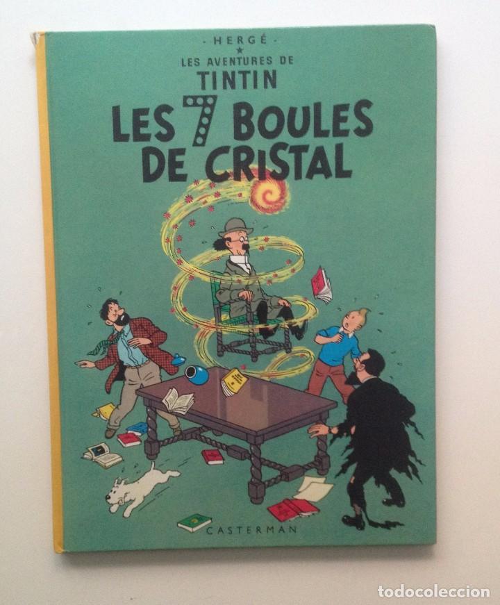 LES AVENTURES DE TINTIN :LES 7 BOULES DE CRISTAL/CASTERMAN- (FRANCES) 1966 (Tebeos y Comics - Comics Lengua Extranjera - Comics Europeos)