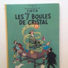 Cómics: LES AVENTURES DE TINTIN :LES 7 BOULES DE CRISTAL/CASTERMAN- (FRANCES) 1966. Lote 100917979