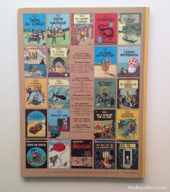 Cómics: LES AVENTURES DE TINTIN :LES 7 BOULES DE CRISTAL/CASTERMAN- (FRANCES) 1966 - Foto 2 - 100917979