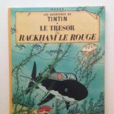 Cómics: LES AVENTURES DE TINTIN :LE TRESOR DE RACKHAM LE ROUGE/CASTERMAN- (FRANCES) 1975. Lote 100920515