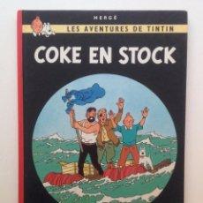 Cómics: LES AVENTURES DE TINTIN :COKE EN STOCK/CASTERMAN- (FRANCES) 1975. Lote 100923499