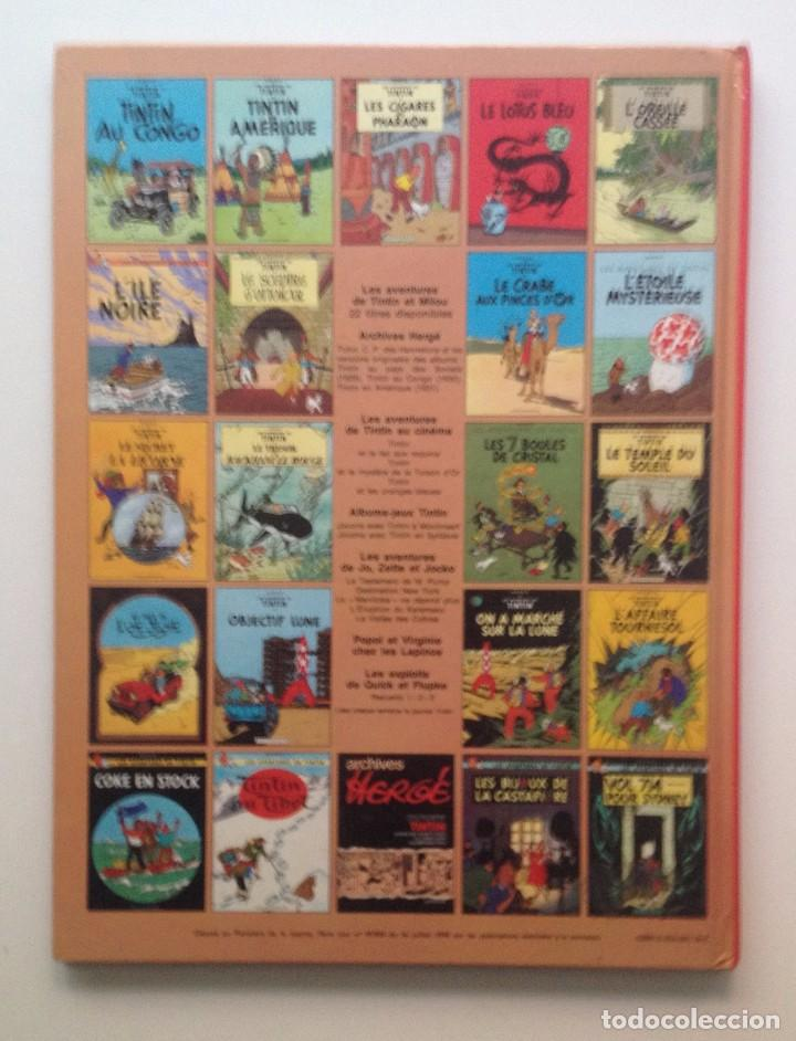 Cómics: LES AVENTURES DE TINTIN :Coke en stock/CASTERMAN- (FRANCES) 1975 - Foto 2 - 100923499