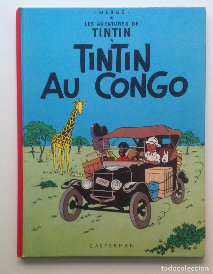 LES AVENTURES DE TINTIN :TINTIN AU CONGO/CASTERMAN- (FRANCES) 1970 (Tebeos y Comics - Comics Lengua Extranjera - Comics Europeos)