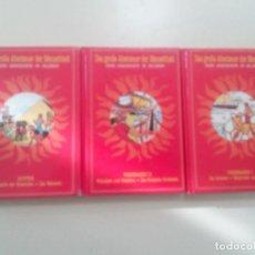Cómics: LOTE 3 COMICS ALEMAN-EL CERCANO ORIENTE-EGIPTO EPOCA DE LAS PIRAMIDES-EDITO SERVICE-1983-TAPA DURA- . Lote 101390319