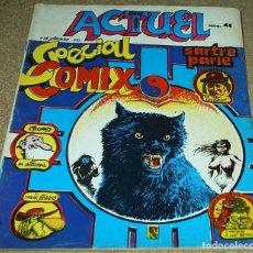 Cómics: ACTUEL Nº 28 - 1973 FRANCIA- BUENISIMO Y RARO EJEMPLAR- VER FOTOS- IMPORTANTE LEER. Lote 102460195