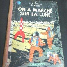 Cómics: ON A MARCHE SUR LA LUNE LES AVENTURES DE TINTIN HERGÉ CASTERMAN AÑO 1958. Lote 104287255