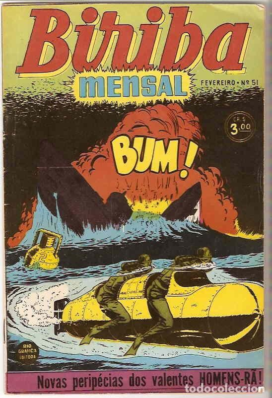 BIRIBA MENSAL Nº 51 - BRASIL 1954, EN PORTUGUÉS - MUY BIEN - IMPORTANTE LEER CONDICIONES (Tebeos y Comics - Comics Lengua Extranjera - Comics Europeos)