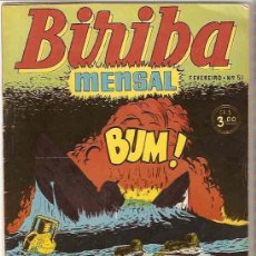 Cómics: BIRIBA MENSAL Nº 51 - BRASIL 1954, EN PORTUGUÉS - MUY BIEN - IMPORTANTE LEER CONDICIONES. Lote 102687731