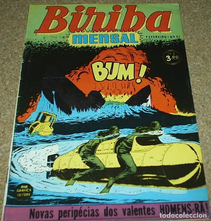 Cómics: BIRIBA MENSAL Nº 51 - BRASIL 1954, EN PORTUGUÉS - MUY BIEN - IMPORTANTE LEER CONDICIONES - Foto 4 - 102687731