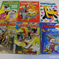 Cómics: PRECIOSO LOTE DE 6 COMICS TOPOLINO - WALT DISNEY EDITOR ARNOLDO MONDADONI VER TODOS MIS COMICS. Lote 103815135