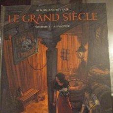 Cómics: SIMON ANDRIVEAU--LE GRAN SIECLE. Lote 104308075