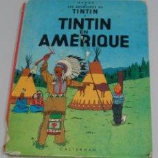 Cómics: TINTIN EN AMÉRICA - TINTIN EN AMÉRIQUE - HERGÉ - CASTERMAN 1980. Lote 104694995