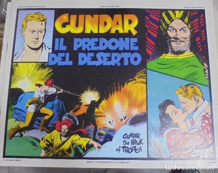 TEBEO ITALIANO. SERIE FLASH GORDON. ALBO A COLORI Nº 28. GUNDAR IL PREDONE DEL DESERTO (Tebeos y Comics - Comics Lengua Extranjera - Comics Europeos)